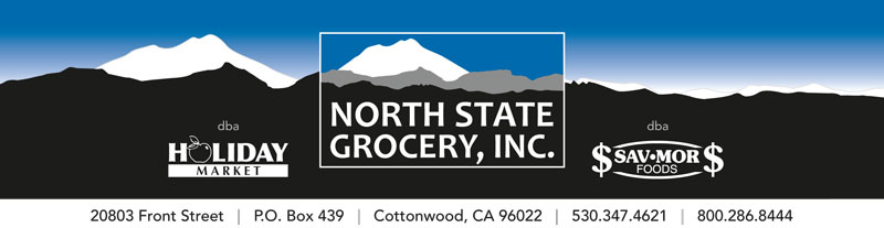 North State Grocery letterhead