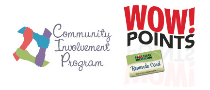Community Invovlement Program and WoW Points Rewards Card
