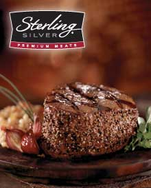 Sterling Silver Beef